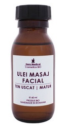 Ulei de masaj facial ten uscat deshidratat - Hera Medical