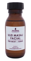 Ulei de masaj facial ten mixt sau gras - Hera Medical