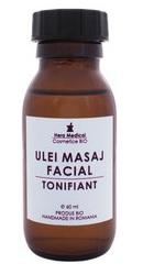 Ulei de masaj facial tonifiant - Hera Medical
