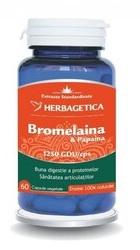 Bromelaina Papaina - Herbagetica