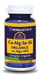 Ca Mg Se Si cu Alga Afa - Herbagetica