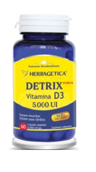 Detrix Forte Vitamina D3 5000 U.I - Herbagetica