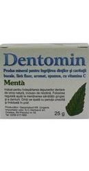 Dentomin Praf de dinti Menta - Herbavit