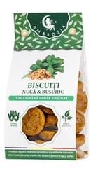 Biscuiti vegani fara zahar cu nuca si busuioc - Ambrozia