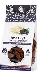 Biscuiti vegani fara zahar, fara gluten cu orez si coacaze - Ambrozia