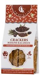 Crackers vegani cu masline kalamata - Ambrozia