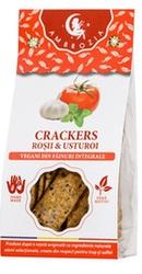 Crackers vegani cu rosii si usturoi - Ambrozia