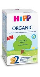 2 Organic lapte de continuare - Hipp