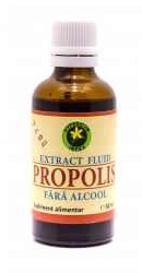 Propolis fara Alcool - Hypericum