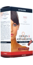 Colagen si Acid Hialuronic Forte - Interherb