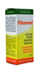 Fitomed Picaturi pentru unghii - Interherb