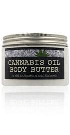 Body Butter cu ulei de Cannabis - Kabinett