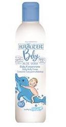 Crema corp pentru bebelusi cu aloe vera si plante BIO - Krauter