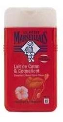 Gel de dus cu lapte de bumbac si mac - Le Petit Marseillais