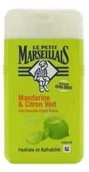 Gel de dus cu mandarine si lime - Le Petit Marseillais