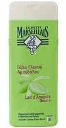 Gel de dus hidratant cu lapte de Migdale Dulci - Le Petit Marseillais
