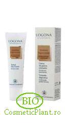 Crema coloranta BIO Logona-bronz auriu pentru ten uscat sau sensibil