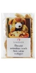 Biscuiti animalute vesele ecologici fara zahar - Longevita