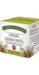 Crema hidratanta pentru ten normal si mixt cu unt de Shea - Manicos