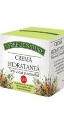 Crema hidratanta pentru ten uscat si sensibil cu unt de Shea - Manicos