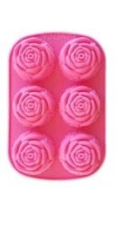 Forma de sapun Trandafir 6 cavitati - Mayam
