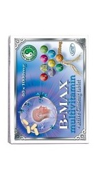 B-MAX Multivitamine cu Ginseng Activ - Mixt Com