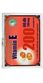 Natural Vitamin E 200mg - Mixt Com