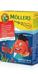 Omega 3 Fishes Capsuni – Moller s