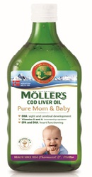 Cod Liver Oil Pure Mom and Baby - Moller s