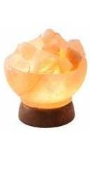 Lampa sare in forma Minge de Foc - Monte Salt Crystal