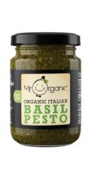 Pesto Bio Vegan cu Busuioc - Mr. Organ