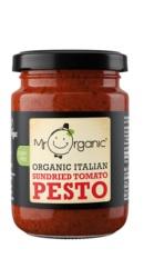 Pesto Bio Vegan cu rosii uscate la soare - Mr. Organic