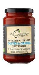 Sos Bio Paste autentic Italian Masline si Capere - Mr. Organic