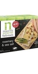 Felii crocante paine de ovaz cu rozmarin si sare de mare - Nairns