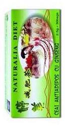 Ceai antiadipos cu Ginseng - Naturalia Diet