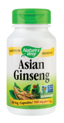 Asian Ginseng 560MG - Nature s Way