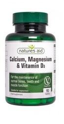 Calciu, Magneziu si Vitamina D3 - Natures Aid
