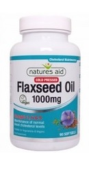 Flaxseed Oil 1000mg - Natures Aid