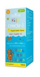 Kidz Omega 3 cu vitamina D3 - Natures Aid