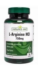 L-Arginine 750mg - Natures Aid
