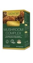 Organic Mushroom Complex - Natures Aid