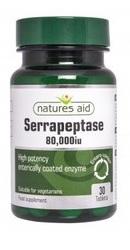 Serrapeptase 80.000iu - Natures Aid