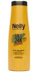 Sampon pentru par gras Gold 24K - Nelly Professional