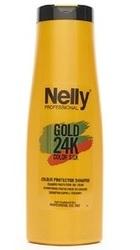 Sampon pentru parul vopsit Gold 24K Color Silk - Nelly Professional