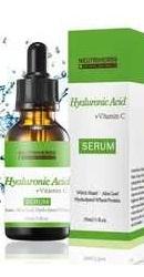Serum cu Acid Hialuronic, Aloe Vera, Vitamina C si E - Neutriherbs