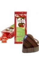 Inimioare ciocolata Amaretto - NoSugarShop