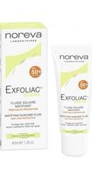 Exfoliac Fluid Matifiant SPF50 - Noreva