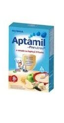 3 Cereale cu lapte si 3 fructe Aptamil 8 luni  - Nutricia