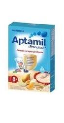 Cereale cu lapte si 5 fructe Aptamil 8 luni - Nutricia
