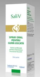 Spray oral pentru gura uscata Sali V - Onco Support Medical